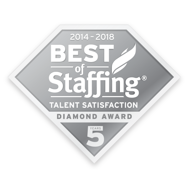 NESCO RESOURCE WINS INAVERO'S 2018 BEST OF STAFFING® TALENT AWARD